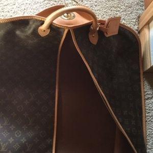 LV Weekender Garment Bag